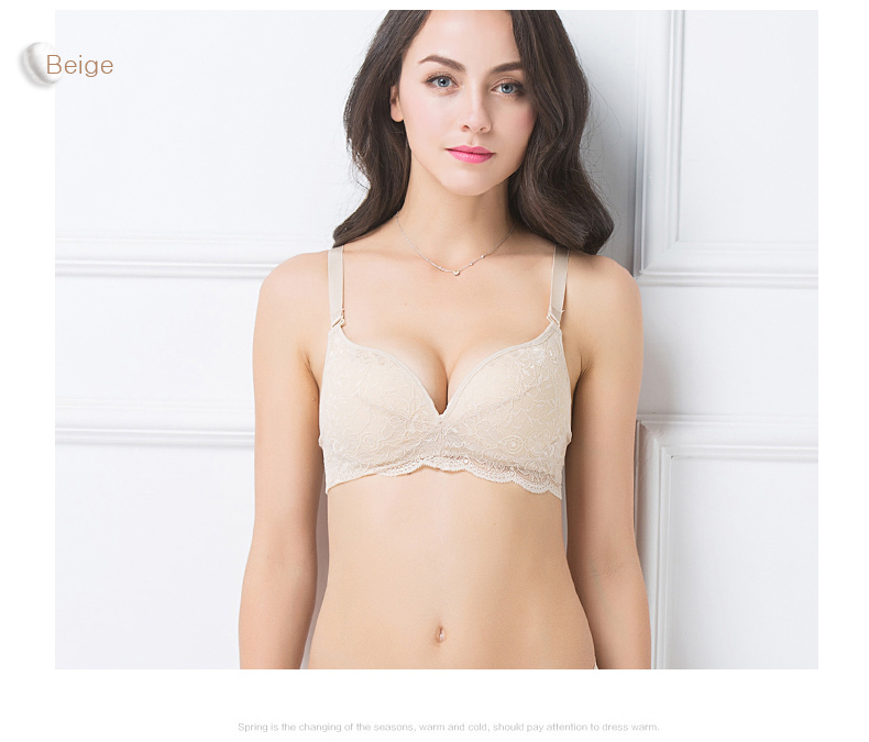 Women Lace Bras Wireless Bralette Seamless Bra Push up 100% Natural silk underwear deporte sujetador reggiseno Free shipping 8