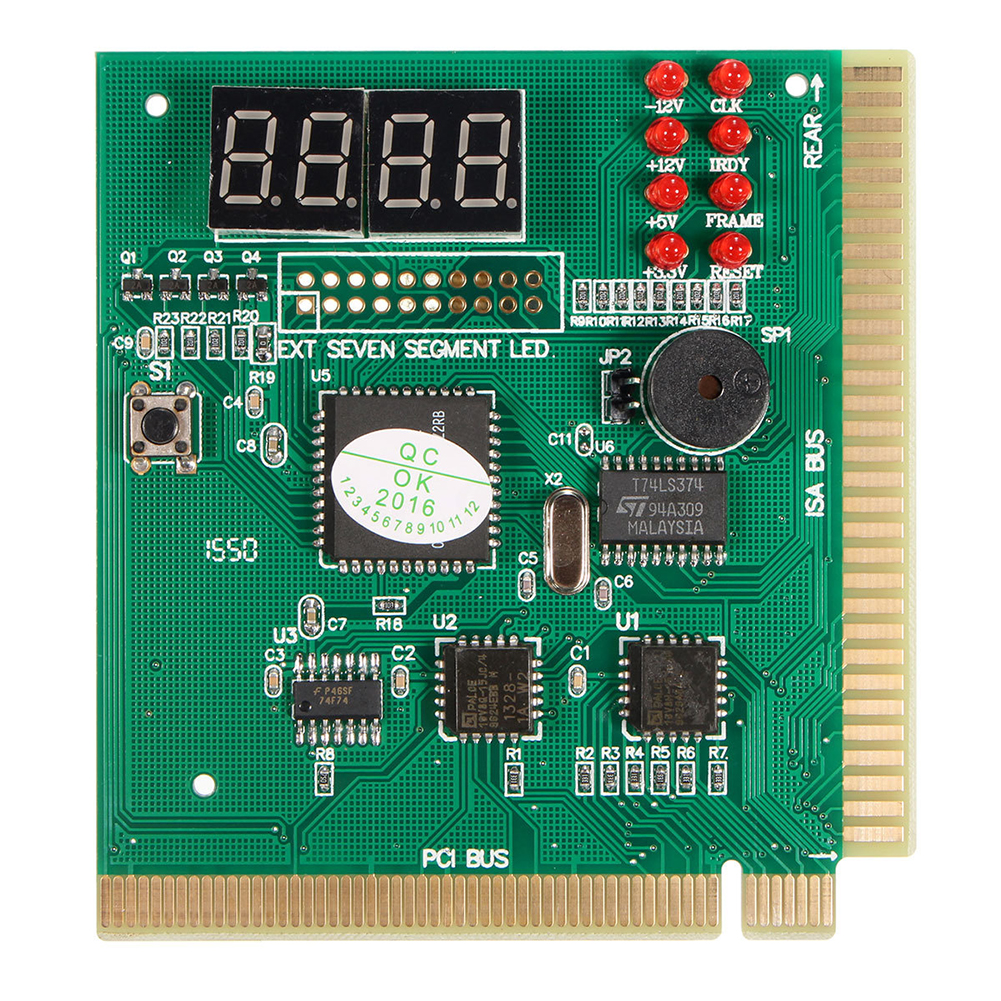 Hot-Diagnostic PCI 4-Digit Card PC Motherboard Post Checker Tester Analyzer Laptop
