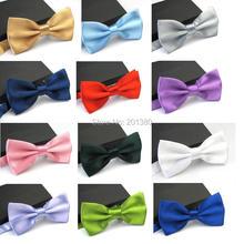 Однотонная бабочка галстук-бабочка для мужчин и женщин