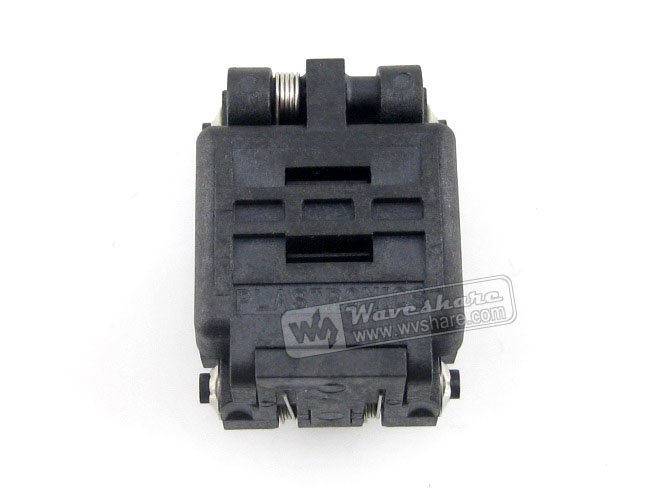 QFN16 MLP16 MLF16 16QN65K14040 QFN Enplas IC Test Socket Adapter size 4x4mm 0.65Pitch qfn16 mlp16 mlf16 qfn 16bt 0 65 01 qfn enplas 0 65pitch 4x4mm ic test burn in socket programming adapter with ground pin