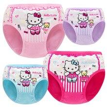 hot deal buy girls briefs baby panties toddler cartoon hello kitty cotton panty 1-9y kids underwear for girls boxershort baby panties lots