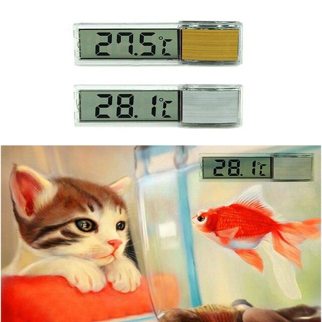 Мульти-функциональный ЖК-дисплей 3D цифровой электронный измерение температуры аквариума Temp Meter аквариумный термометр WXV распродажа