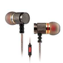 Line Type KZ In Ear Wired Stereo Earphones Sets With Clear Voice Noise Cancelling Funtions For