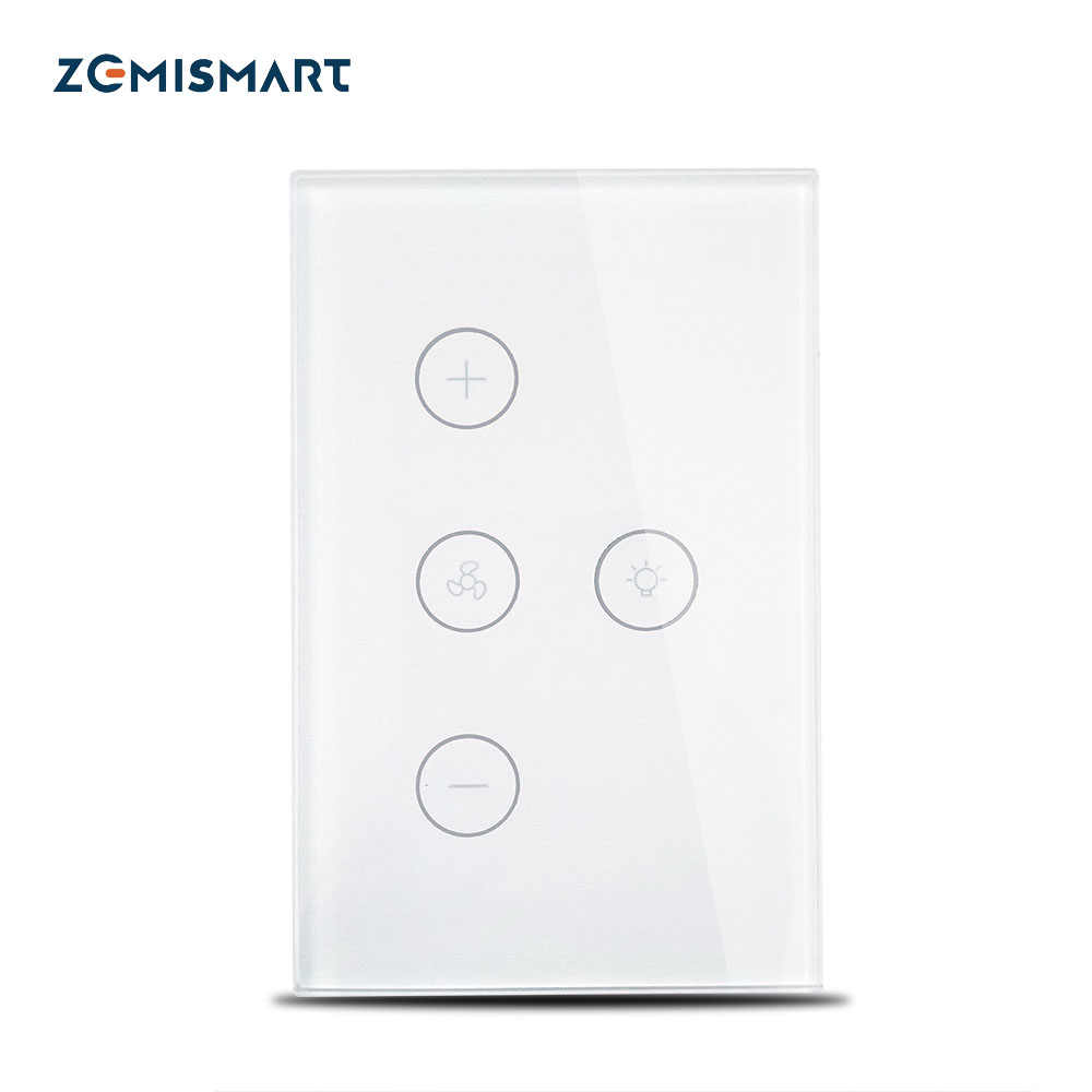 Smart WiFi switch for Fan light Compatible with Alexa Google Home