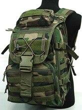 Nueva X7 Laptop Mochilas Tácticas Del Ejército Militar Camuflaje bolsa de Viaje Bolsa Bolso de la Computadora de Viaje Campamento 1000D Nylon Bolsas de Caza