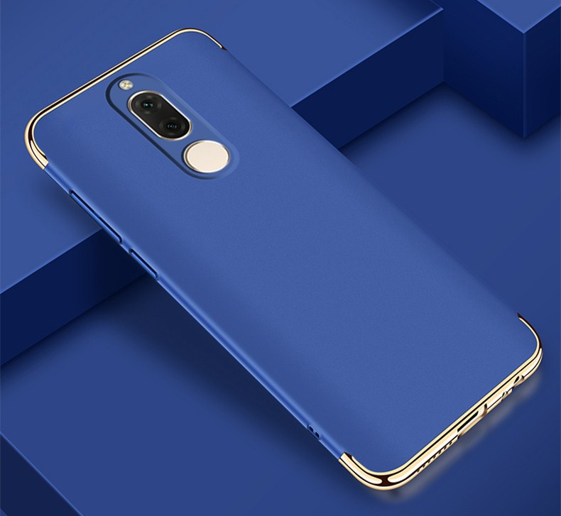 Case For HUAWEI MATE 10 Lite Case Christmas Red Blue Gold Plating 3In1 Full Protective Mobile Phone Hard Back Cover Capa