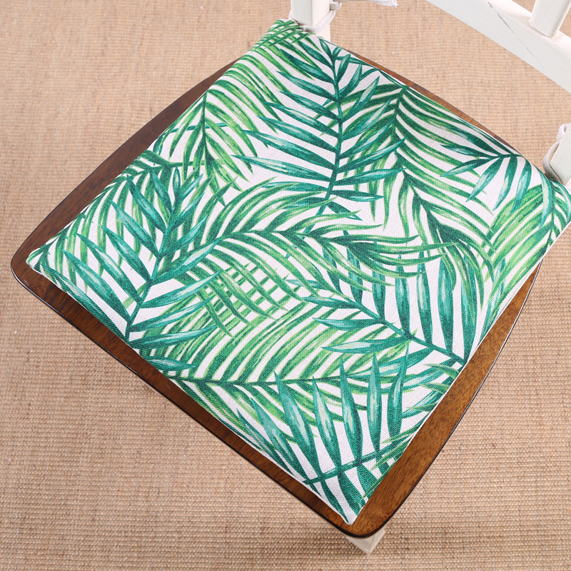 Memory Foam Chair Pad Seat Cushion Green Leaf Of Tropical Palm Telopea  Monstera Ceriman 40x40cm Home Decor Ding In Cushion From Home U0026 Garden On  ...
