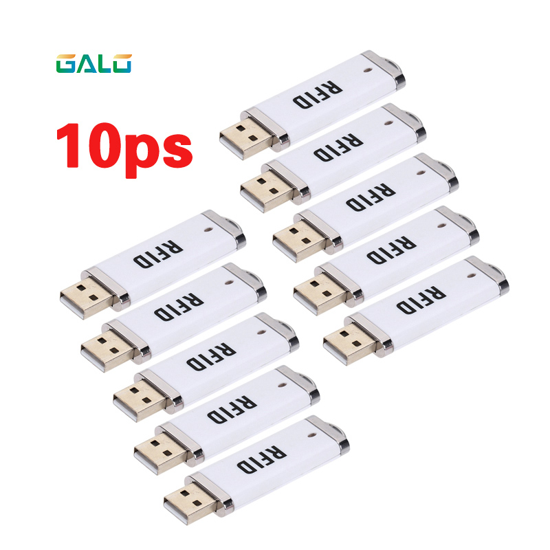 10ps MINI USB Port 13.56Mhz NFC RFID Reader U-disk Style As Automated Parking Management