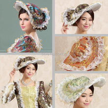 707bed69 Vintage Ladies The Taylor Fascinator,Victorian dress Hats Cap Court Women's  Tea Party Derby Fancy