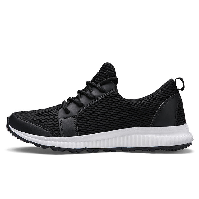 2018 Spring Summer New Mesh Sports Shoes Men's Breathable Running Shoes  Trendy Non-slip Wear