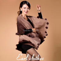new high quality Fashion autumn winter cloak mother shawl cape cashmere sweater women warm outerwear cardigan clothing
