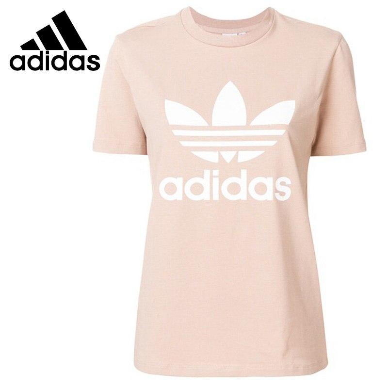 Original New Arrival 2018 Adidas Original TREFOIL TEE Women's T-shirts short sleeve Sportswear original new arrival 2017 adidas neo label graphic men s t shirts short sleeve sportswear