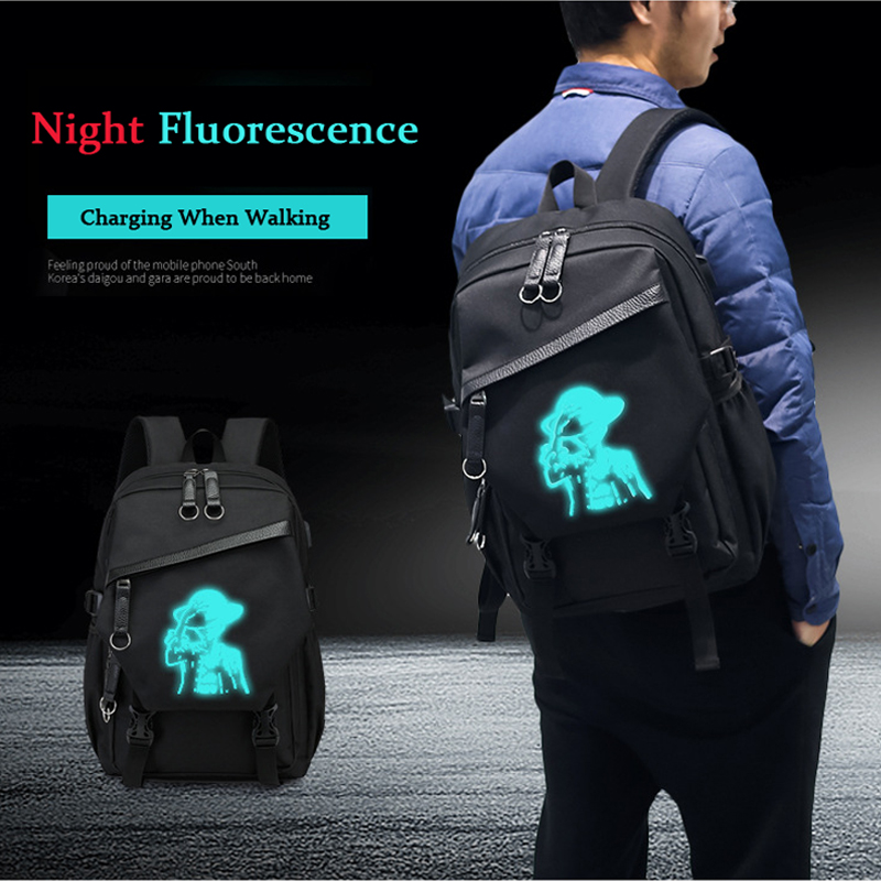 2018 New Men Laptop Backpacks Luminous School Bags For Boys Girls Student Backpack 17 inches mochila with USB Charging Schoolbag forudesigsn printing backpack boys 3d animal schnauzer backpacks school bags for girls college bags student backpack mochila