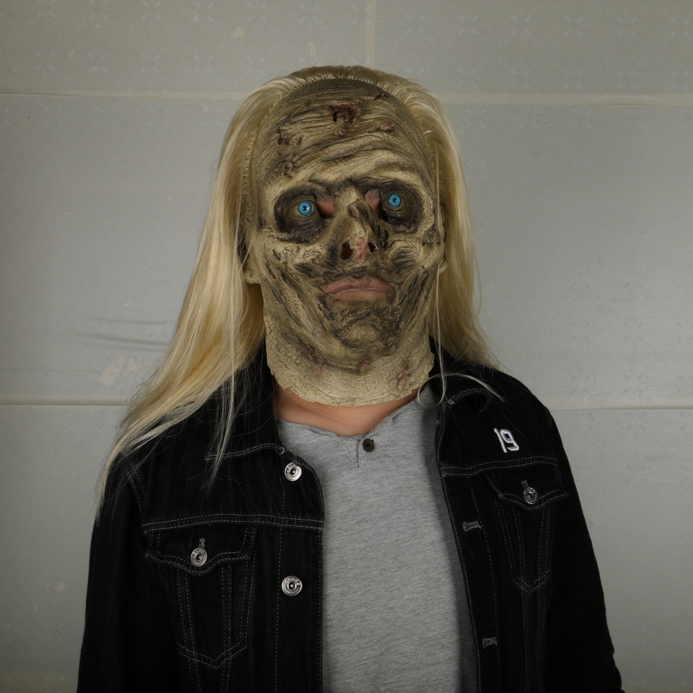 Zombie Mask The Walking Dead Alpha Whisper Dead Walkers Halloween Mask Latex Props New Cosplay Scary Mask in Boys Costume Accessories from Novelty Special Use