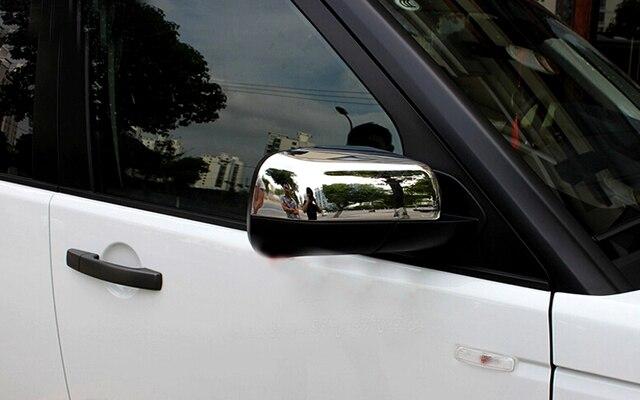 Housse de protection pour rétroviseur arrière | Land Rover Freelander 2 LR2 2012 2013 2014 2015 ABS rétroviseur latéral chromé 12-15