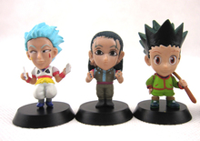 6pcs Key Chain Hunter X Hunter