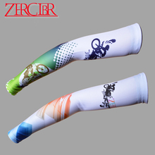 ZERGLBR MTB Mountain Bikes Road Folding Bicycles Cycling Arm Sleeves Arm Warmers Riding Clothes Parts Sunscreen Oversleeve