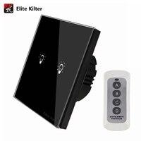 Elite Kilter EU UK Standard Remote Control Switch 12 3 Gang 1 Way Smart Wall Button