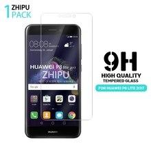 2,5 D 0,26mm 9H Premium Gehärtetem Glas Für Huawei P8 Lite 2017 Screen Protector Gehärtetem schutz film Für huawei P8 Lite 2017