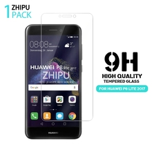 2.5D 0.26mm 9H Premium Tempered Glass For Huawei P8 Lite 2017 Screen Protector Toughened protective film For Huawei P8 Lite 2017