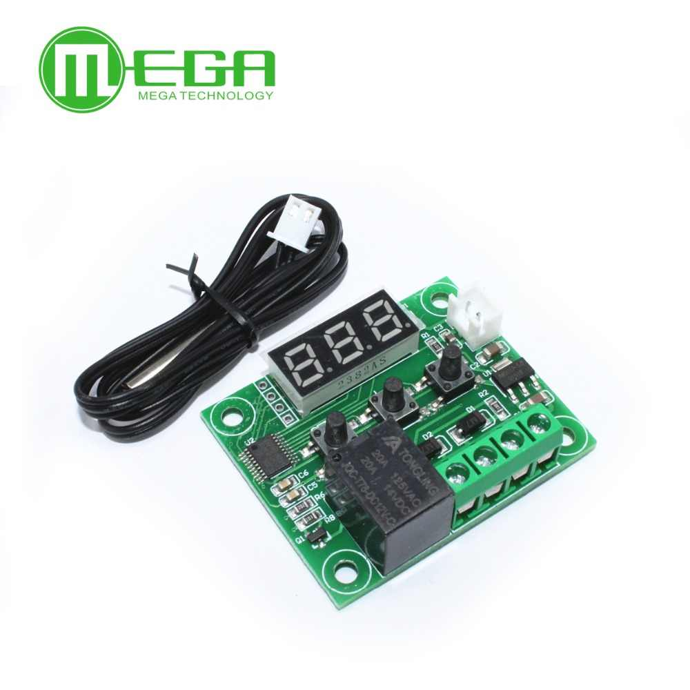1 Pcs W1209 Mini Thermostat Suhu Controller Inkubasi Thermostat Suhu Control Switch