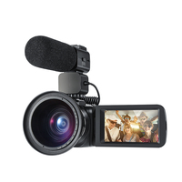 Ordro Portable Digital Video Camera HDV Z20 1080p 30fps FHD Camcorder Built in WIFI Remote Control Support HDMI output