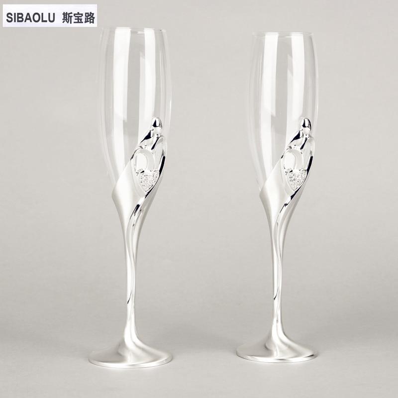 Buy wine glasses set champagne glasses for Wedding champagne flutes