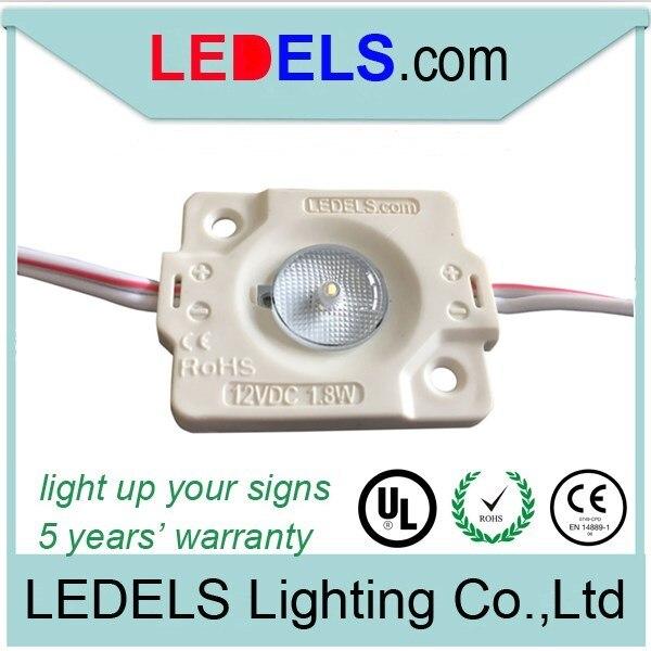 LED 12 В 1.8 Вт 200 LM Светодиодный модуль подсветки для знака коробки 175 градусов угол светового луча даже с подсветкой 5 годовая гарантия ip65