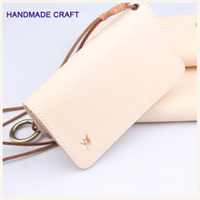 JAPANESE Munal Wallet Vegetable Tanned Leather Purse Handwork Craft  Quality Wristlet Kawatako Wallet 6 Cards Zipper Coin Purse
