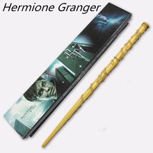 New Hot Sale Quality Deluxe COS Hermione Granger Magic Wand of Harry Potter Magical Wands with Gift Box Packing(China (Mainland))