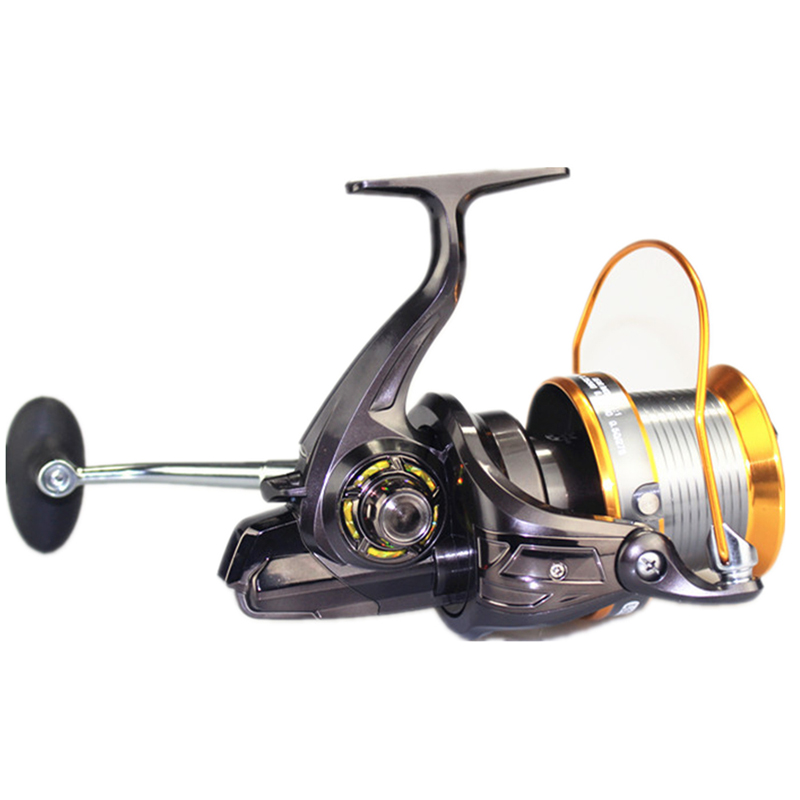 Long shot saltwater spinning fishing reel metal spool surf for Surf fishing reel