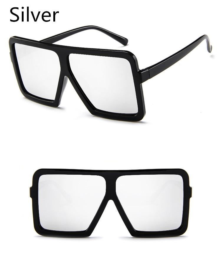ASUOP2018 large frame new retro ladies sunglasses black radiation fashion men's glasses UV400 international luxury brand square goggles (2)
