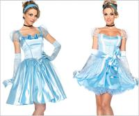 Cinderella dress Snow White Princess Costume Adult Fantasias Feminina Princess Cosplay Women Sexy Halloween Role Play Costume