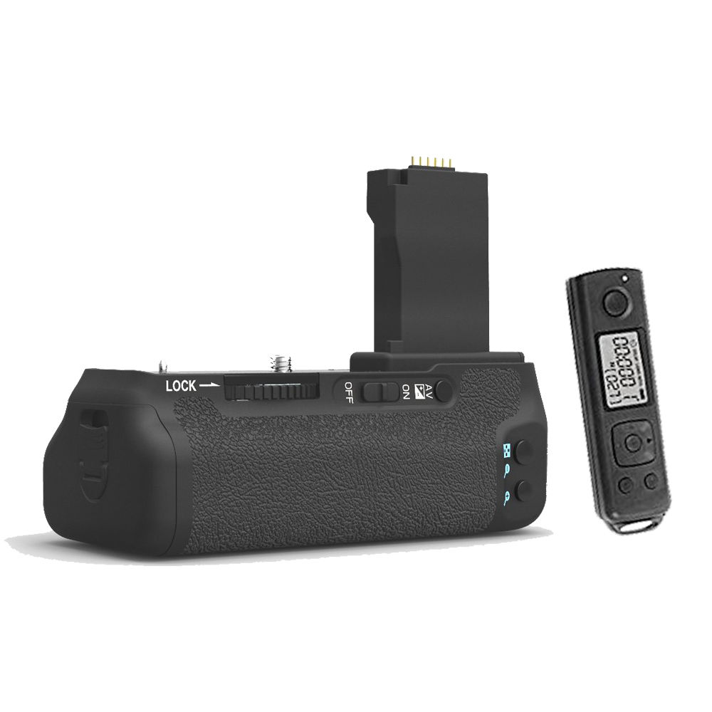 MEIKE MK-760DR 2.4g Wireless Control Battery Grip with remote for Canon 750D 760D AS BG-E18 free shipping meike mk dr750 built in 2 4g wireless control battery grip for nikon d750 as mb d16 wireless remote