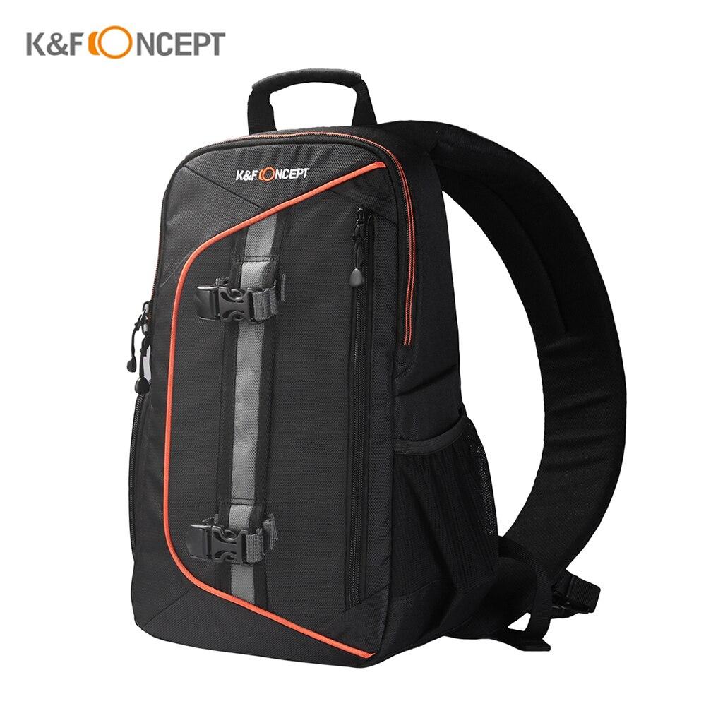 K F CONCEPT Digital DSLR Camera Bag Backpack Shockproof Waterproof Sling Shoulder Bag w Lens Cleaning