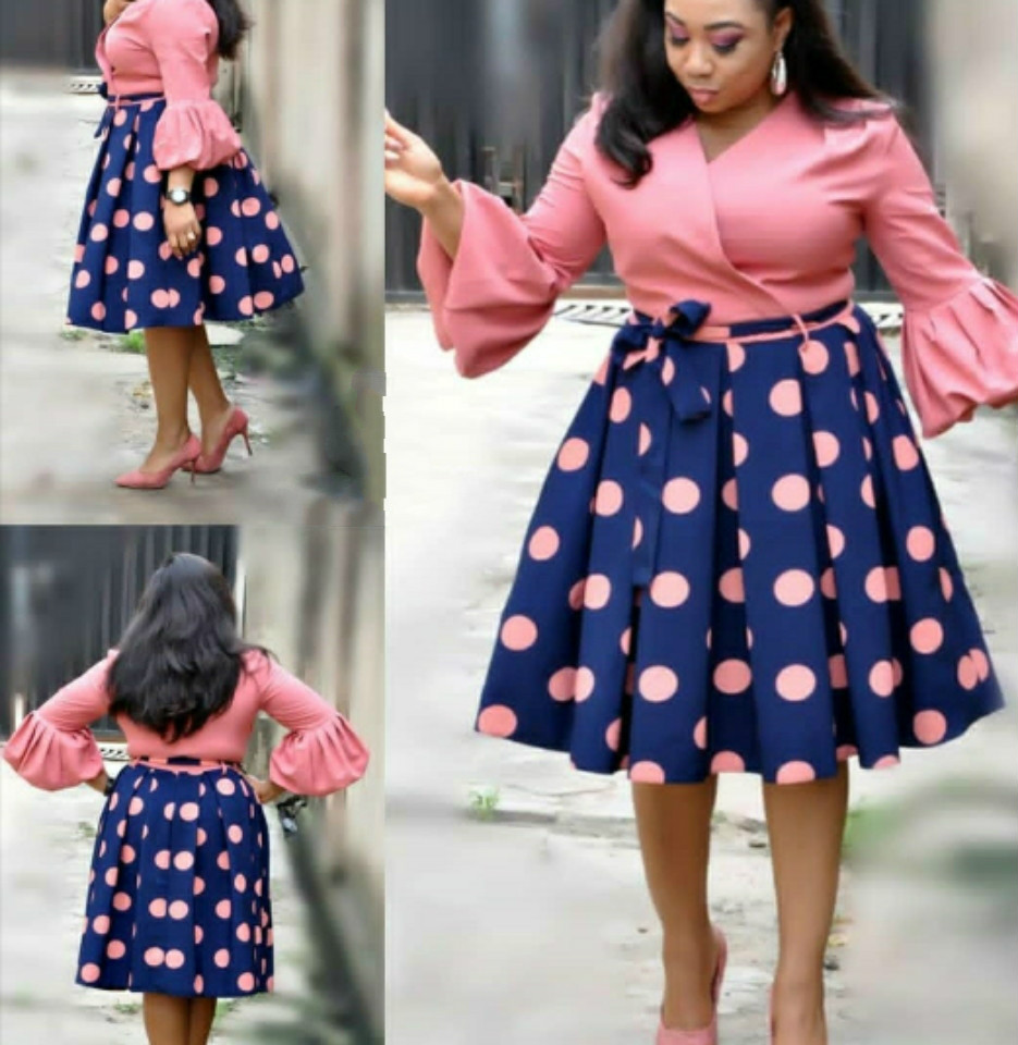 African Women  New Summer Elegent Fashion Style Printing Plus Size Polyester Dress L-3XL