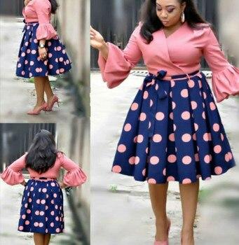 цены African women  new summer elegent fashion style printing plus size polyester dress L-3XL