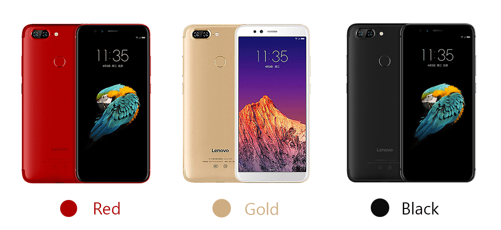 Global Version Lenovo S5 K520  colors