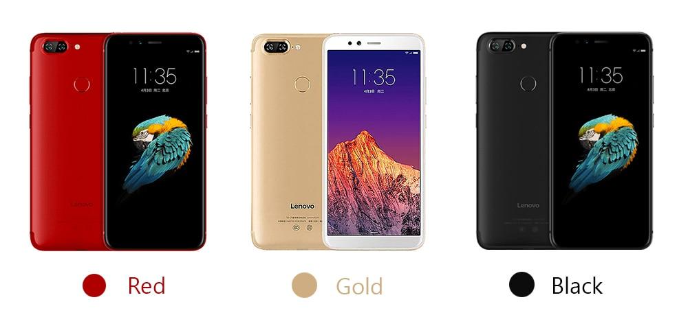 Global Version Lenovo S5 K520  colors
