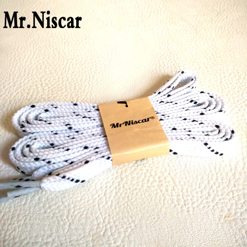 Mr.Niscar 2 Pair 100cm 120cm 140cm Flat Shoelaces Shoe Laces White Black Twill Shoestrings Cords Ropes for Sport Casual Shoes brushed cotton twill ivy hat flat cap by decky brown