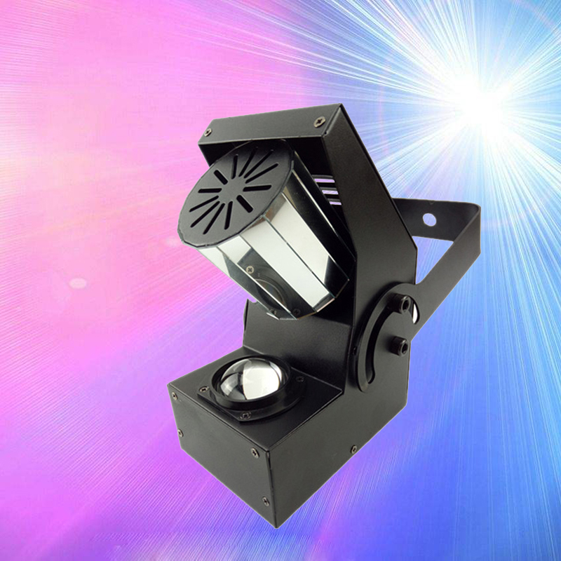 10W RGBW Led Mini Roller Scanner DMX Control Colorful Auto Rotating LED Bulb Stage Light For Disco Party Night Club