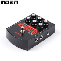 Moen Buffalo Bass Speaker Simulater With DI And EQ Electric Bass Effect Pedal True Bypass BS