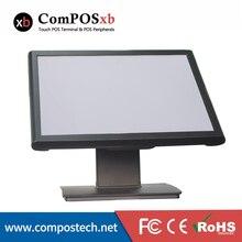 Простой, 19 дюймовый сенсорный дисплей, используемый в ресторанов, супермаркетах, одежде и розничной продаже LCD19T