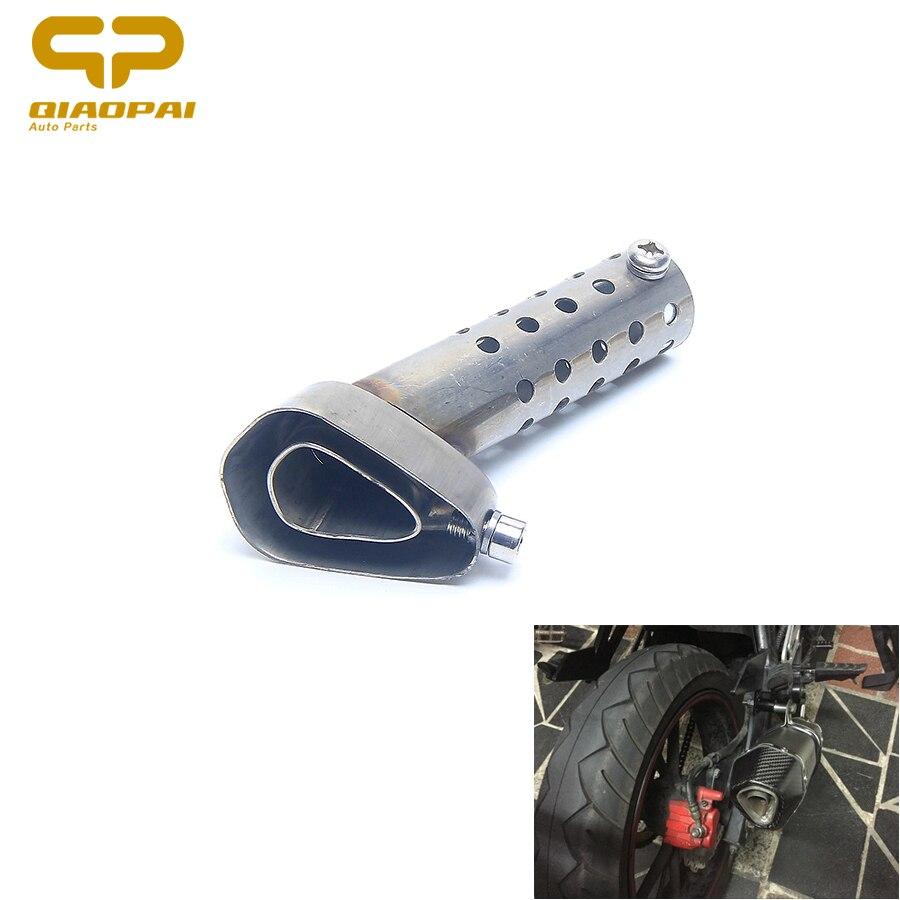 1 pc tubo de escape da motocicleta db assassino 51mm acessórios universal silenciador do escape ajustável db assassino silenciador para honda