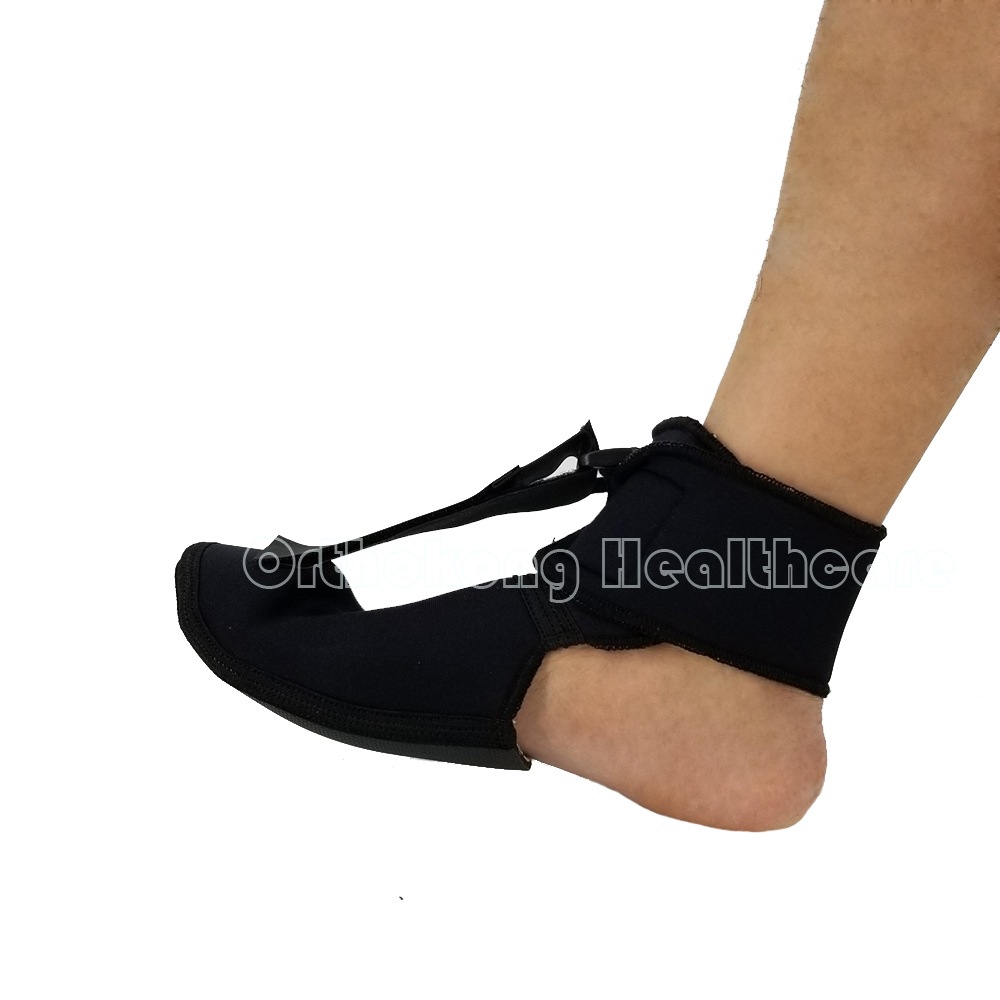 Foot Up Ankle Brace Plantar Fasciitis Night Splint FXT Strap Elevator Dorsal Support Stabilizer Foot Drop Braces Ankle Protector foot drop orthoses plantar fasciitis ankle achilles tendinitis supporting feet correction