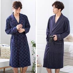 Китайское Мужское ночное белье Ночная одежда из модала повседневный мужской халат кимоно платье интимное нижнее белье