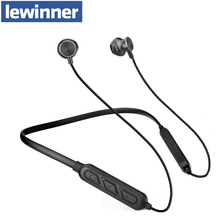 Lewinner X7 plus Neckband Wireless Earphone Sport Bluetooth Headphone Dual Battery with mic Headset Earpiece Auriculares ucomx g02s wireless headphone sport bluetooth earphone neckband stereo headset magnetic auriculares with mic for running android