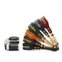 Foleto Natuurlijke Lederen Camera Polsband Riem Hand Made Vintage Stijl Camera Strap Voor SLR Dslr-camera