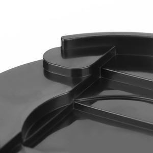 Image 5 - 8 قطعة أقدام أثاث قابل للتعديل الساقين الأسود قاعدة بلاستيكية مستديرة الناهضون الحصير خزانة الجدول قدم وسادة أرجل قطع الأثاث