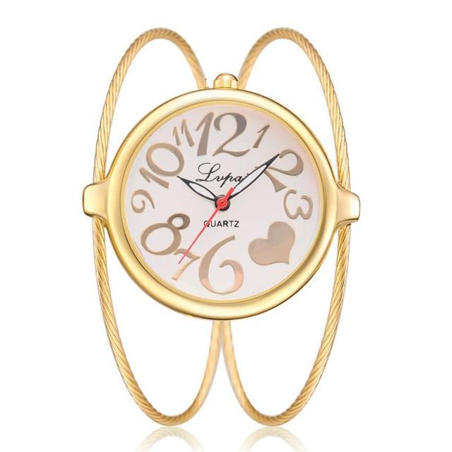 clock female watch Women's Casual Quartz Bracelet Watch Analog Wrist watch for w